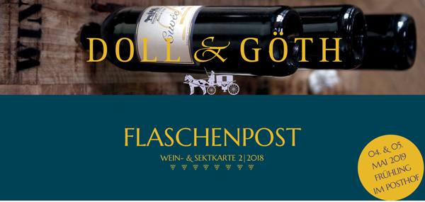 Wein- und Sektkarte 02/2018